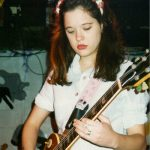 Mary Timony 10-30-93 by Roland Ouellette