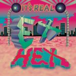 ex hex it's real album cover