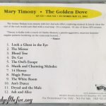 Promo CD for the Golden Dove